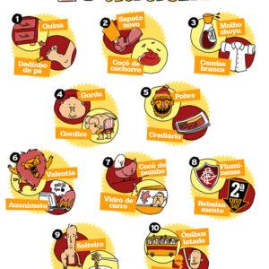 10 elementos que se atraem