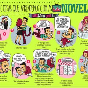 10 coisas que aprendemos com as novelas