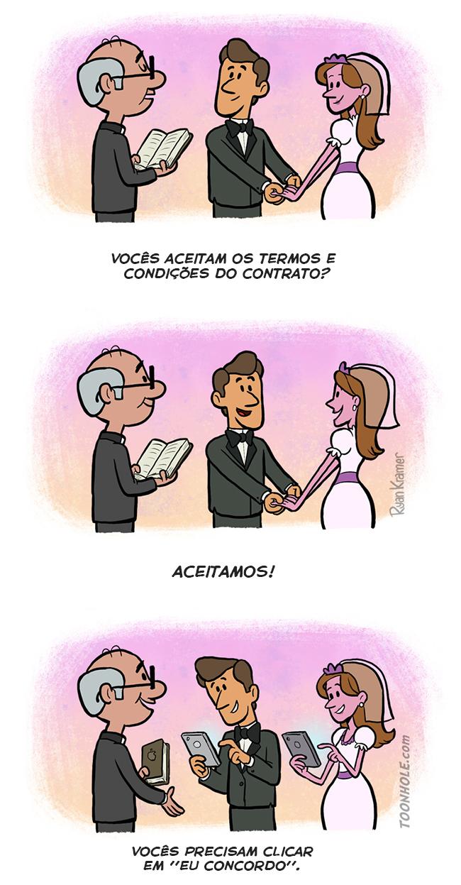 O casamento moderno