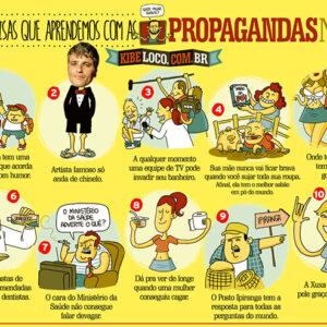 10 coisas que aprendemos com as propagandas na TV