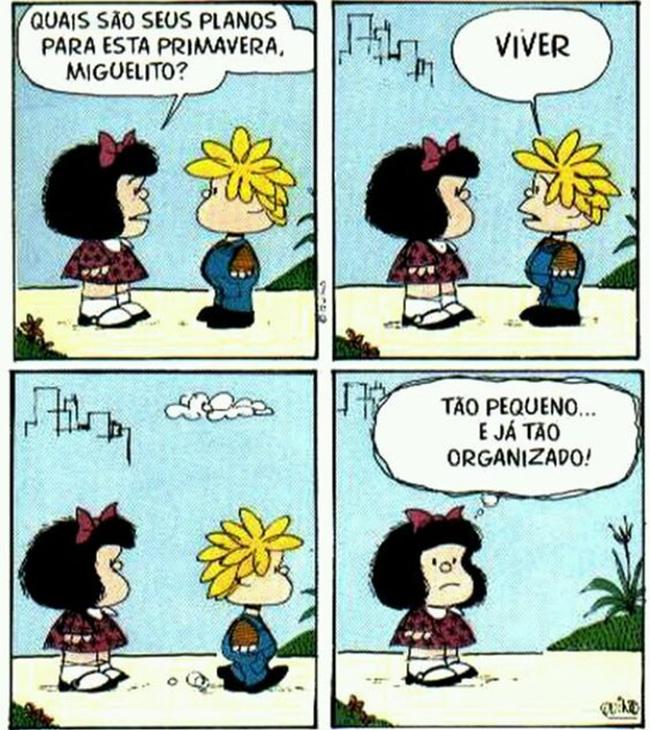 Mafalda. Por Quino.
