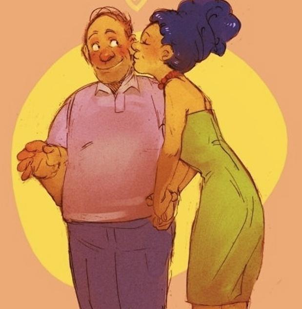 Ilustrações interessantes mostram Os Simpsons de maneira mais realista