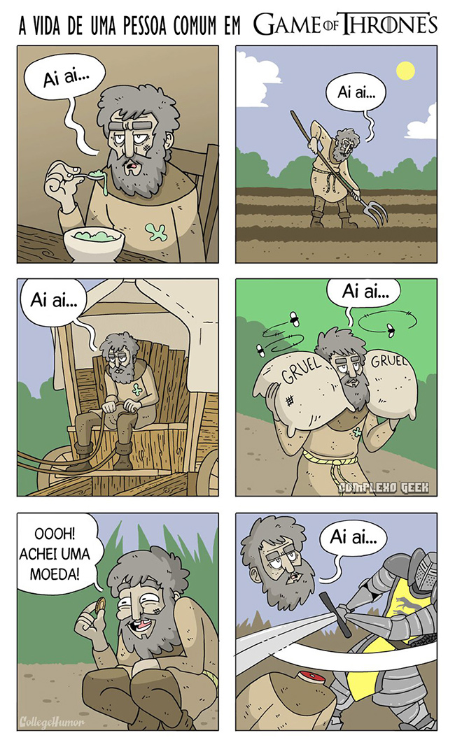 Fonte: College Humor. Tradução: Complexo Geek.