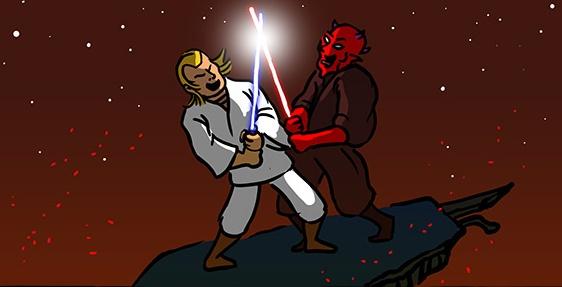 Uma importante referência a Star Wars
