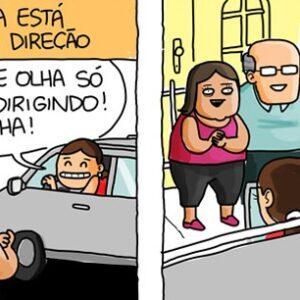 O que você acha de mulher no volante?