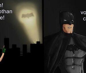 Batman é um sujeito muito duro