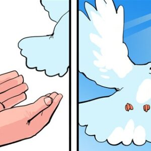 A pomba branca da guerra