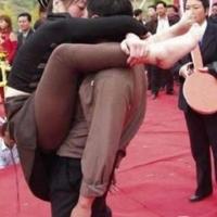 Acontecem muitas cenas bizarras na China.