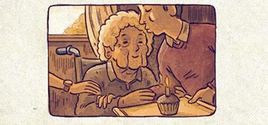 Quadrinhos emocionantes: O último sopro de vida
