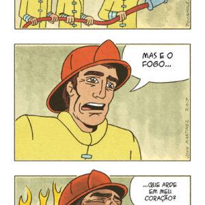 A história de um bombeiro apaixonado