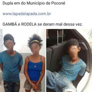 Imagens mostram que não é fácil ser criminoso no Brasil