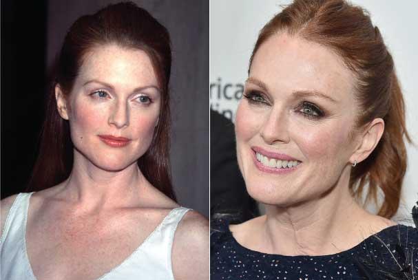 10 celebridades femininas que envelheceram muito bem