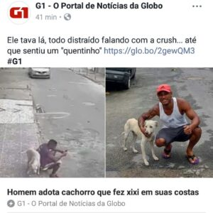 A linda história de amor entre um homem e um cão