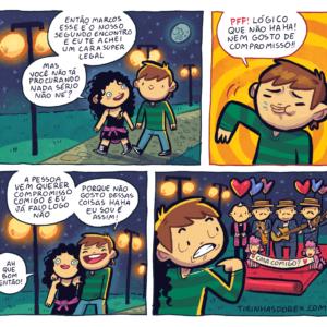 Mulheres que não querem compromisso e outros quadrinhos divertidos