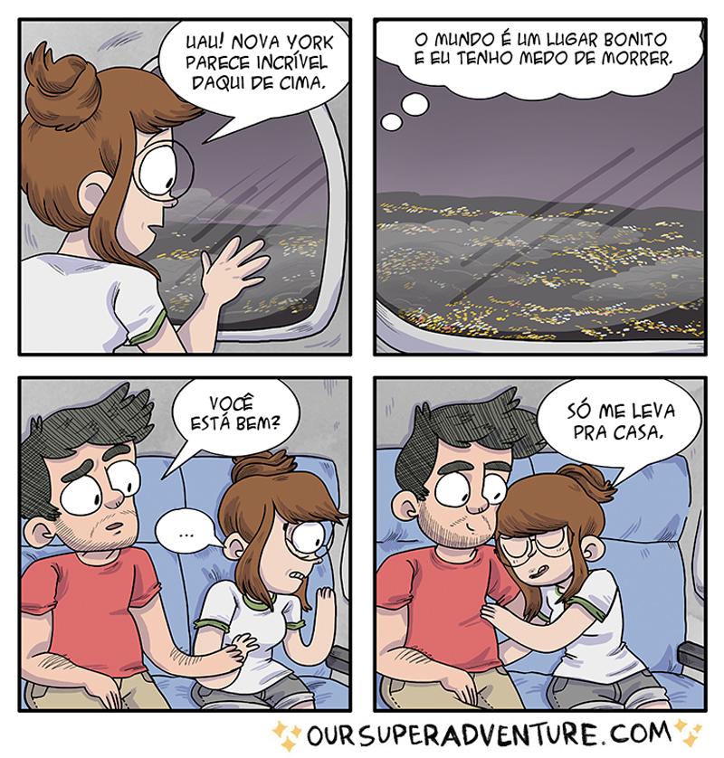 Todos estes quadrinhos foram traduzidos do ótimo Oursuperadventure
