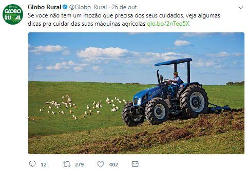 15 provas de que o Twitter da Revista Globo Rural é o mais zoeiro