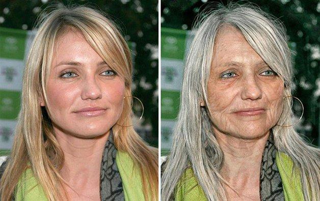 A aparência de 16 celebridades na velhice segundo os mestres do Photoshop