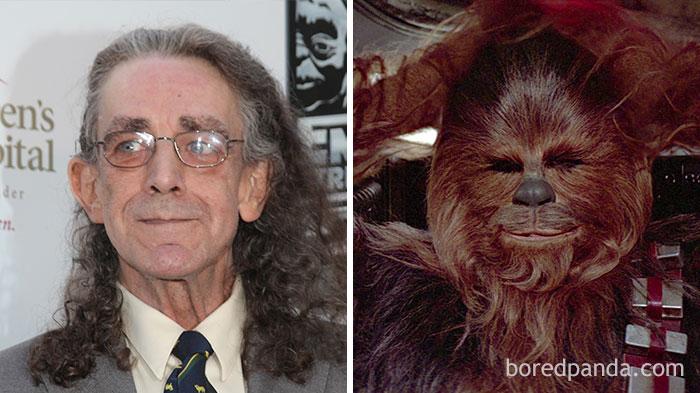 Peter Mayhew, como Chewbacca, em Star Wars