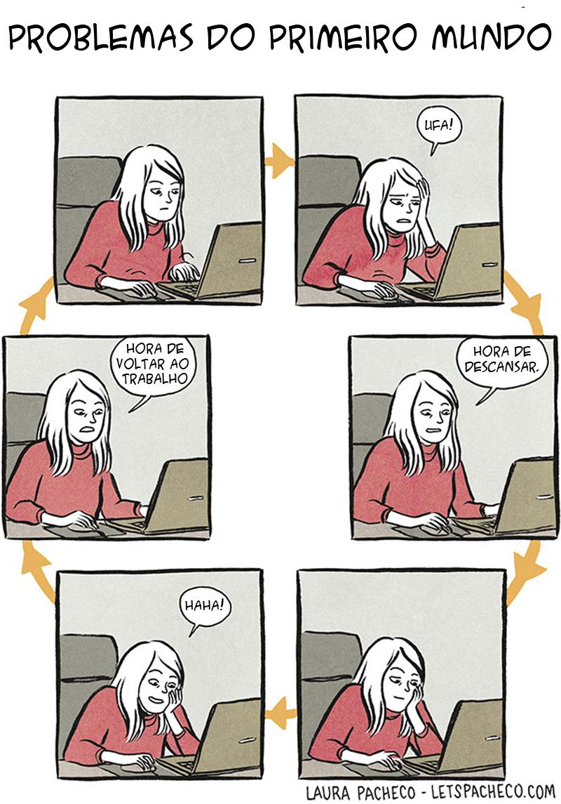 O círculo vicioso do trabalho