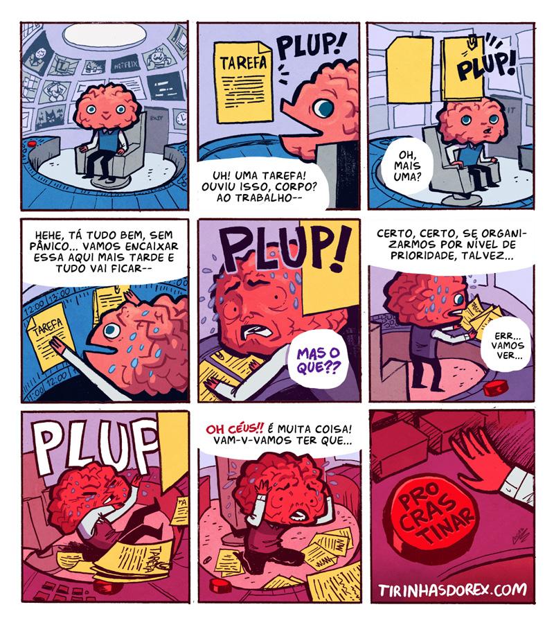 Chega uma hora em que nosso cérebro não aguenta mais tantas tarefas