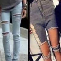 A evolução da calça feminina.