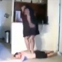 Uma massagista muito louca.