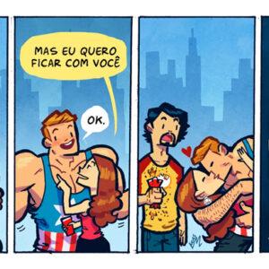 O principal motivo de briga entre amigos e outros quadrinhos reveladores