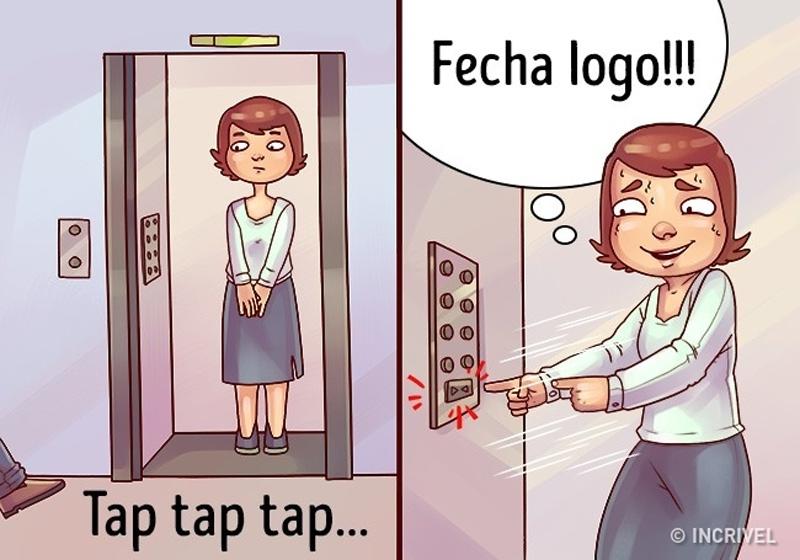 sozinha-no-elevador