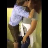 O primeiro beijo a gente nunca esquece.