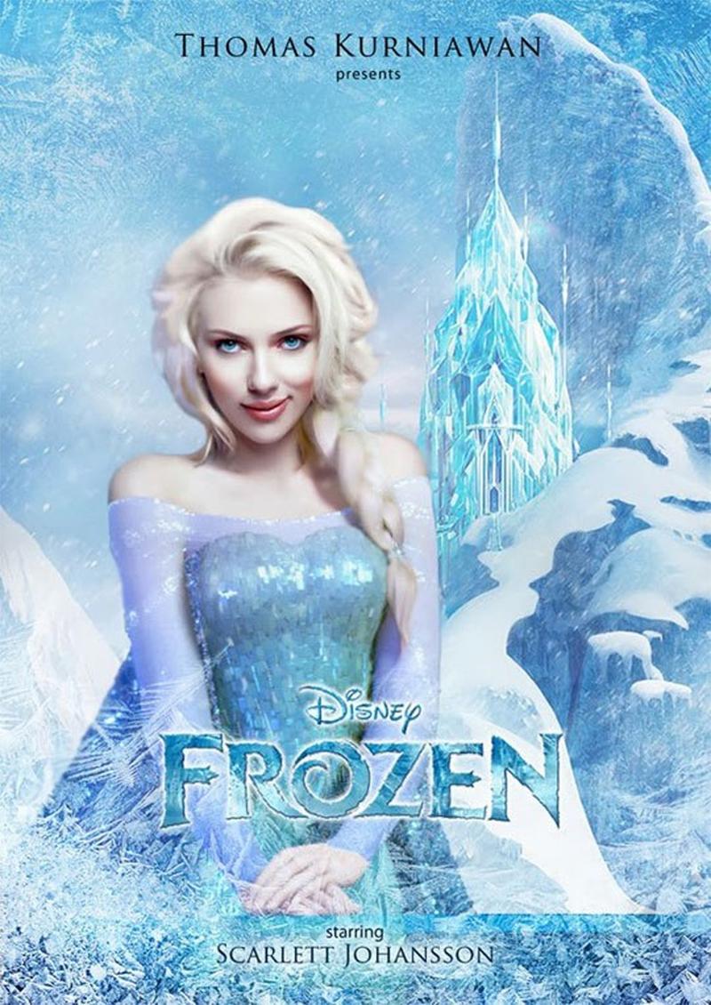 15 celebridades transformadas em princesas da Disney