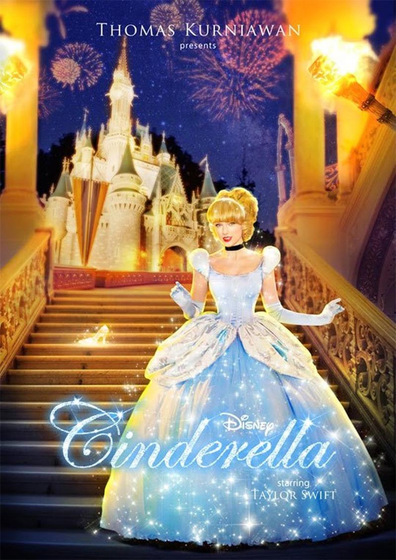 Celebridades transformadas em princesas