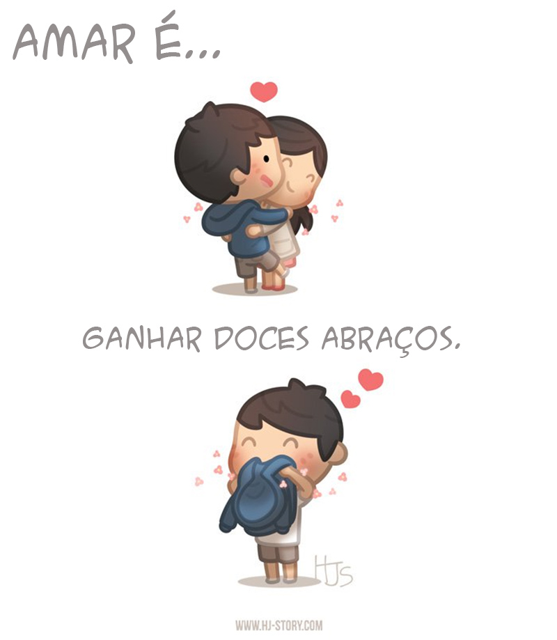 Doces abraços