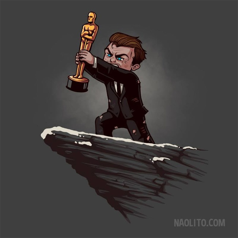 DiCaprio e Oscar tão esperado