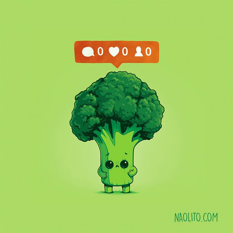 Ninguém gosta de brócolis