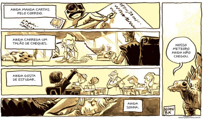 quadrinhos sobre sonhos