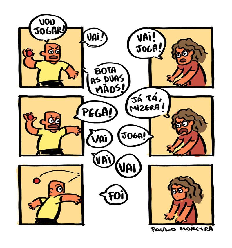 quadrinhos idiotas