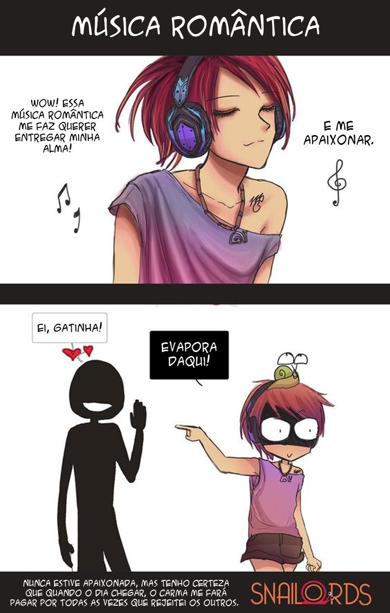 A música atrai as mulheres