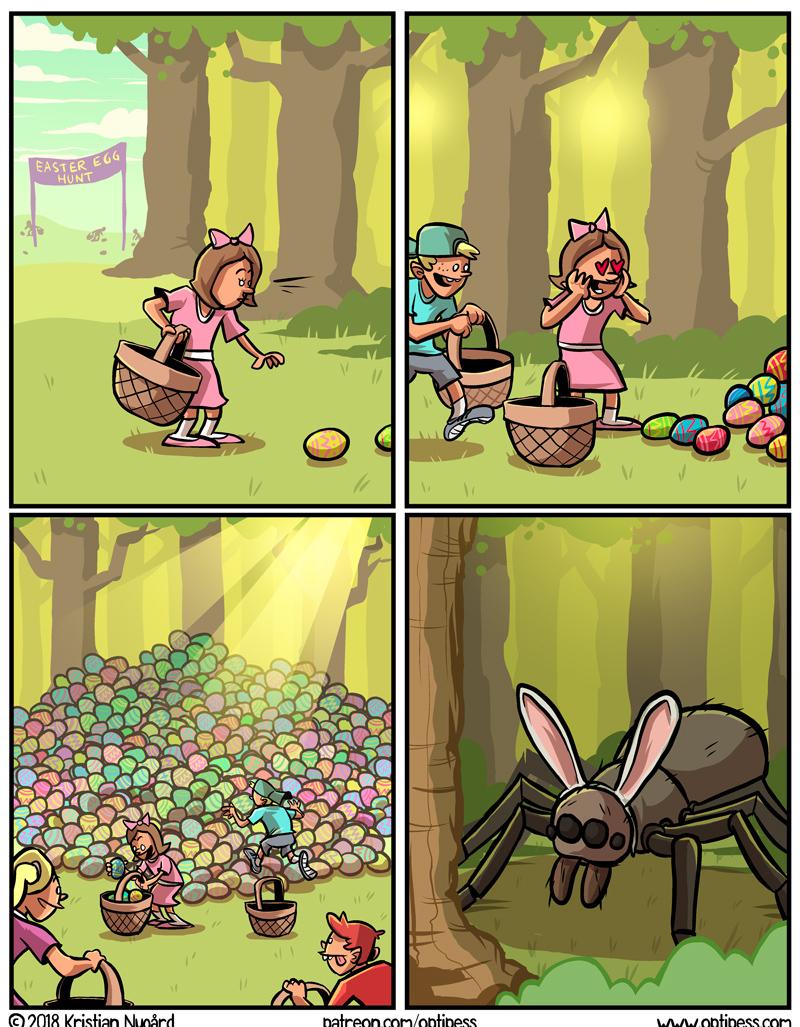 ovos de aranha