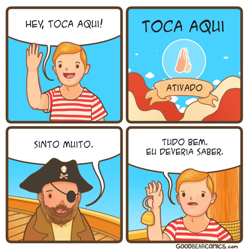 piratas são perigosos