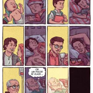 Sentimentos em quadrinhos com o Sushi Comix