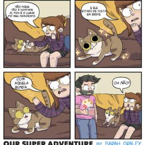 A bunda do namorado e outros quadrinhos engraçados