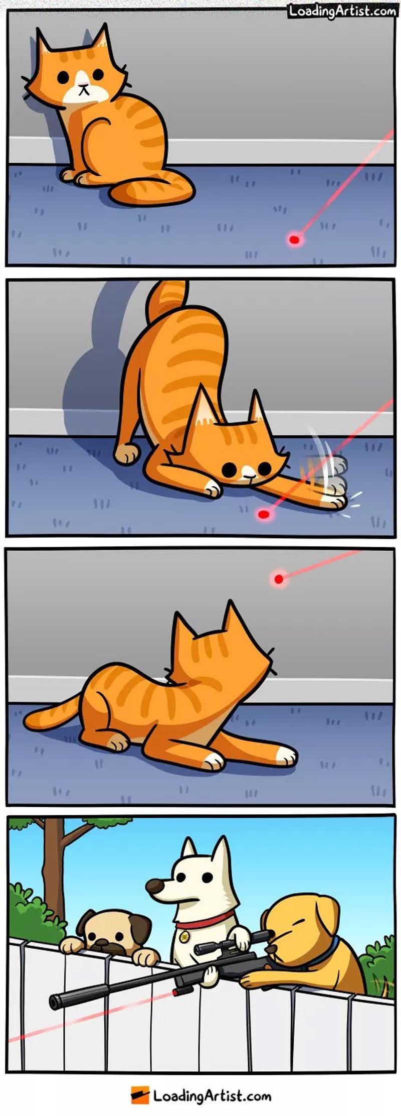A vingança canina e outros quadrinhos engraçados