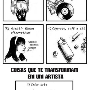 Coisas que não te transformam em um artista
