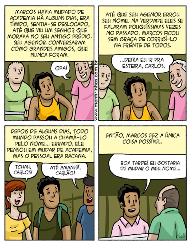 Quadrinhos para quem se mete na vida dos outros