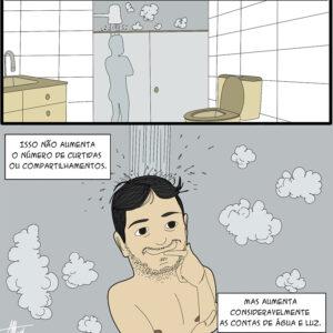 Pensamentos de chuveiro e outras análises importantes