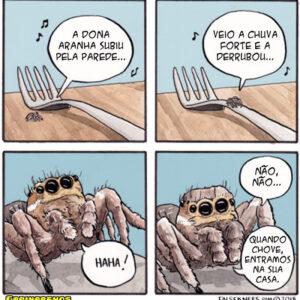 A aranha perigosa e outros quadrinhos traduzidos