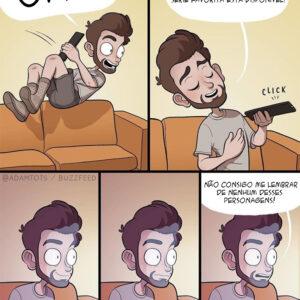 Qual é a sua série favorita? Problemas comuns em quadrinhos