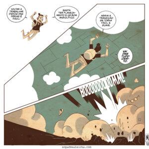 Voltando das férias e outros quadrinhos interessantes