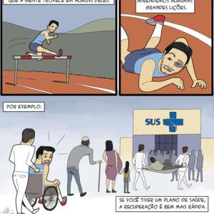 Os obstáculos da vida e outros quadrinhos