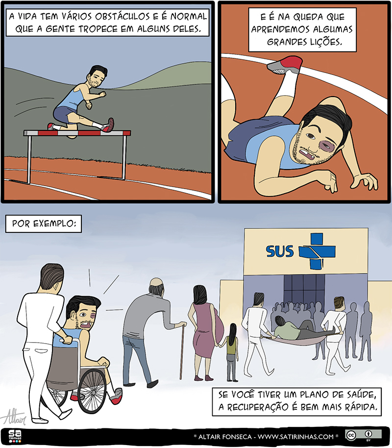 Os obstáculos da vida